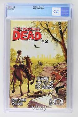 Walking Dead #1 Image 2003 Cgc 9.8 1ère App Rick Grimes, Shane Walsh & Morgan