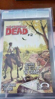 Walking Dead 1 Imprimer 1er Rare Cgc 9.0