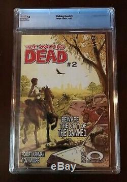 Walking Dead # 1 Mint Cgc 9,8 Nm / Mt Image 2003 1ère Application De Rick Grimes