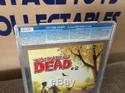 Walking Dead 1 Pages Blanches 9.8 De La Ccég! Daryl Dixon Rick Grimes-livre Chaud-
