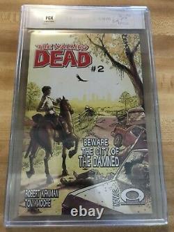 Walking Dead 1 Pgx 9.8 Signature Series Black Label Signé Par Kirkman (pas Cgc)
