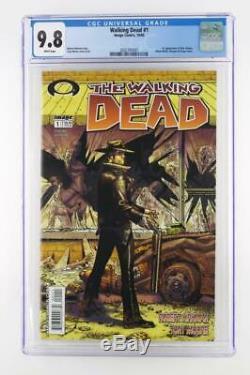 Walking Dead # 1 Proche Mint Cgc 9.8 Nm / Mt Image 2003 1ère Application De Rick Grimes