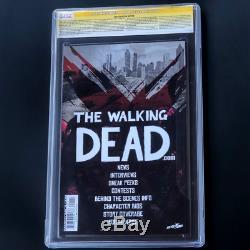 Walking Dead # 1 Signé Kirkman + Moore Cgc Ss 9.8 Édition 10e Anniversaire