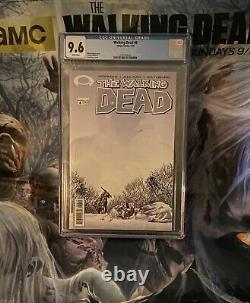 Walking Dead #1 To #10 And #19 All 1st Print Cgc 9.6 Signé Aussi