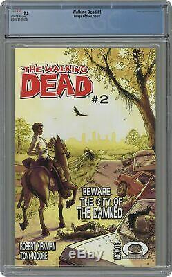 Walking Dead 1a 1er Impression Cgc 9.8 2003 2088118008