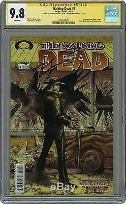 Walking Dead 1a 1er Impression Cgc 9.8 Ss 2003 1058550002
