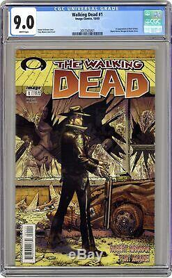 Walking Dead 1a 1st Printing Cgc 9.0 2003 2057565001