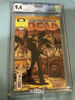 Walking Dead 1st Printing Cgc 9.4 2003 Doit Avoir La Clé