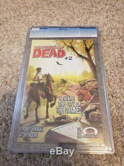 Walking Dead 2003 # 1 1er Impression Cgc 9.6 1er Rick Grimes