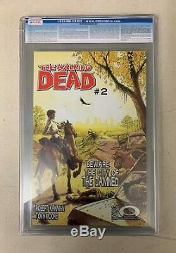Walking Dead 2003 # 1 1er Imprimer Cgc 9.6 (025408001) 1er Rick Grimes