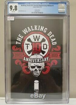 Walking Dead 2014 Special Edition Anniversaire # 1 Cgc 9.8
