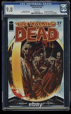 Walking Dead #27 Cgc Nm/m 9.8 Pages Blanches 1er Gouverneur