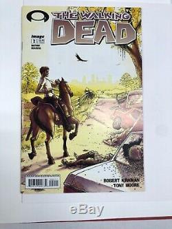 Walking Dead 2 2nd Print 1er Glenn Près De La Menthe