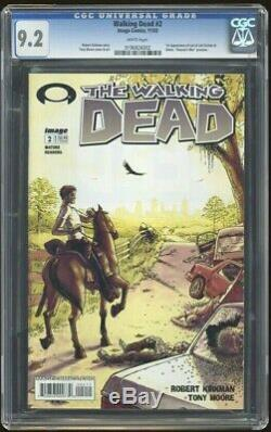 Walking Dead 2 Cgc 9.2 Pages Blanches 1er Impression