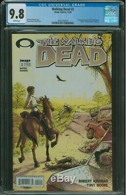 Walking Dead # 2 Cgc 9.8 1ère Apparition De Glenn Et Lori Et Carl Grimes