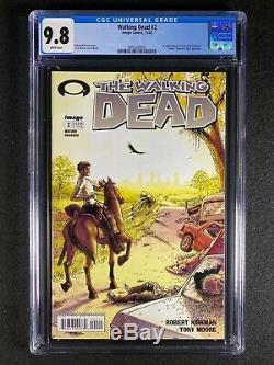 Walking Dead # 2 Cgc 9.8 (2003) 1ère Application De Lori Et Carl Grimes & Glenn