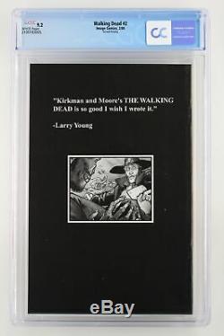Walking Dead # 2 Image 2004 Cgc 9.2 1er Apparition De Lori Et Carl Grimes Et