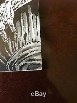 Walking Dead # 2 Serbe Noir Et Blanc Variant Seulement 50 Made! Super Rare