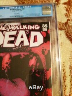 Walking Dead 35 Cgc 9.6 Édition D'erreur