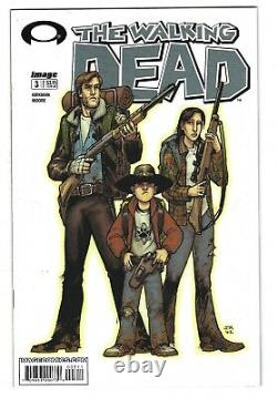 Walking Dead #3 (2003, Image) Robert Kirkman, Tony Moore, 1ère Impression, F+/vf