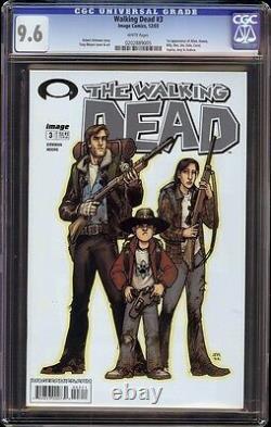 Walking Dead # 3 Cgc 9.6 Blanc (image, 2003) 1ère Apparition Dale & Carol