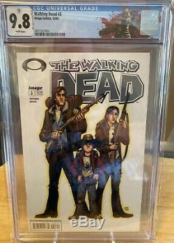 Walking Dead # 3 Cgc 9.8