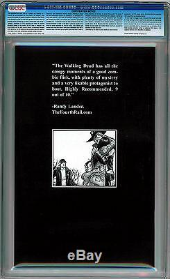 Walking Dead # 3 Cgc 9.8 Pages Blanches Âge Moderne Meilleur Cgc Copie B