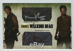 Walking Dead 3 Reedus Et Lincoln Surdimensionné Double Carte Automatique Oam-20 De Rachat