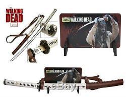 Walking Dead 41 Michonne Katana Épée Avec Fourreau Licence Offl Edition Deluxe