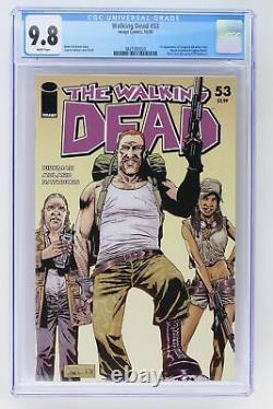 Walking Dead #53 Image 2008 Cgc 9.8 1ère Apparition Du Sergent Abraham Ford, R