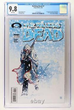 Walking Dead #7 Image 2004 Cgc 9.8 1ère Apparition Tyreese, Julie Et Chris. Voilà