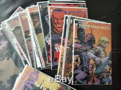 Walking Dead # 97-180 Énorme Lot / Run / Set 1er Prints, Image, Variantes, Spécial Vf / Nm