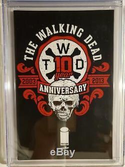 Walking Dead Anniversary Edition Spéciale 2014 # 1 (cjc 9.8) Hyundai Édition