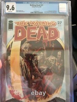 Walking Dead Bundle #2 Inc Cgc 9.8 Apparant Wd 100 Red Foil, Cbcs 9.2 Wd #2 2ème