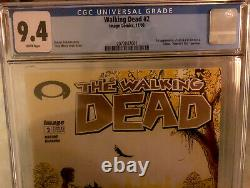 Walking Dead Cgc Classé 9.4 Numéro#2