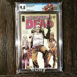 Walking Dead Cgc Key & Variante Lot! Michonne, Gouverneur, Abraham ! 19 27 53 100