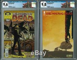 Walking Dead Comic Issue # 1 Et # 193 Cgc Personnalisé Marcher Étiquettes Mortes