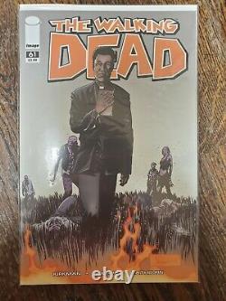 Walking Dead Comic Lot 94 Numéros Totaux, Y Compris Plusieurs Touches 27, 33, 61