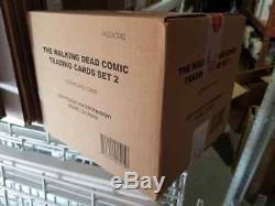 Walking Dead Comic Série 2 Cartes De Collection Case 12 Boîtes Scellé En Usine 2013