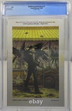 Walking Dead Deluxe #1 Black Foil Variante Cgc 9.8 1 Sur 200 Produit