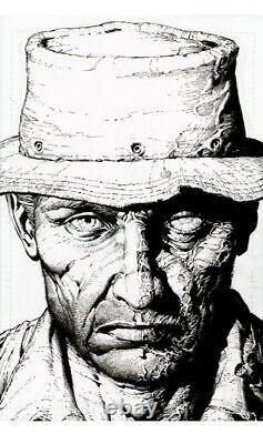 Walking Dead Deluxe #7 8 9 10 11 12 125 Croquis Brut 2ème Lot De Variantes D'impression (nm)