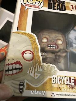 Walking Dead Funko Pop Lot De 5 08 Bicycle Girl Teddy Bear Well Walker Penny