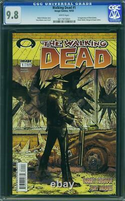 Walking Dead Numéro 1 Ccg 9.8 Près De La Monnaie / Monnaie Wow @@ Wow #1