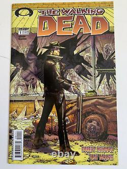 Walking Dead # Original 1ère Impression 2003 Rare Black Mature Readers Ungraded
