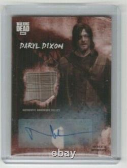 Walking Dead Road To Alexandria Norman Reedus/daryl Autograph Relic Card #10/10