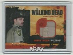 Walking Dead Saison 1 Andrew Lincoln/rick Grimes Wardrobe Card Variante #/175