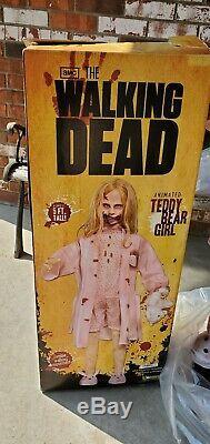 Walking Dead Teddy Bear Fille Lifesize Animatronic Spirit Halloween Zombie Prop