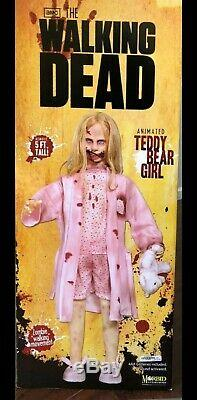 Walking Dead Teddy Bear Girl 5 Pied Animatronic Life Zombie Doll New Sealed