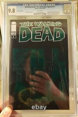 Walking Dead The Governor Foil Special #1 Cgc 9.8 (nm/mt) Image Comics