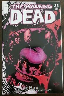 Walking Dead (image 2007) # 35 Erreur Variant Et La Première Impression. Condition Excellente